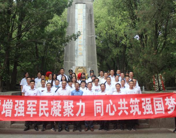 大理沧龙物流党支部携手两家国企一同走进军营庆祝党的生日