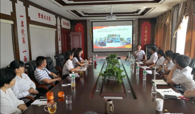 沧龙物流党支部邀请党校老师给党员们上好持续发展专题党课